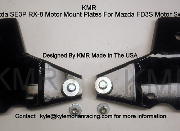 RX8 Engine Swap Mount Set for FD3S RX7 Turbo Motor