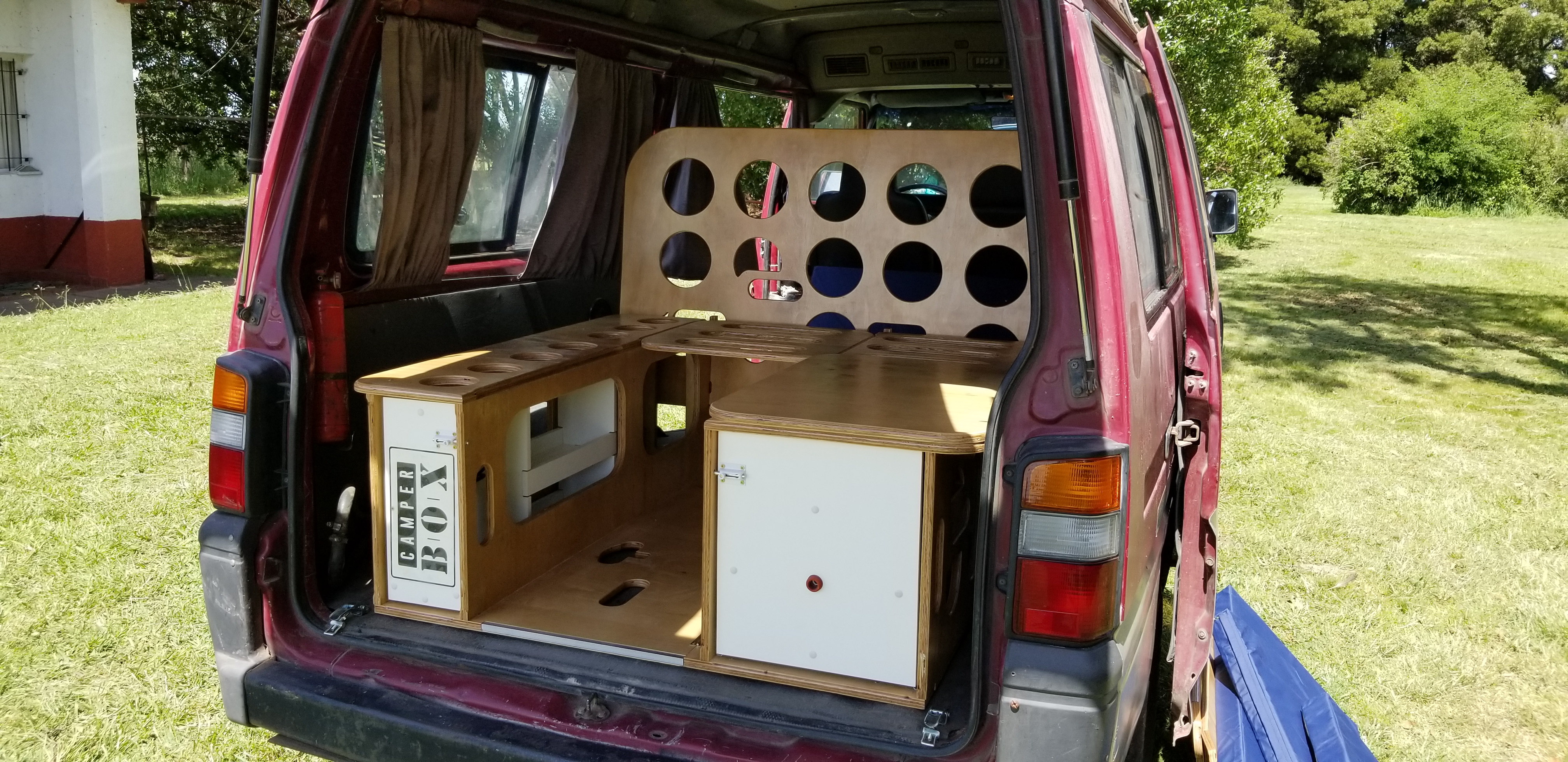 Camper Box Mitsubishi