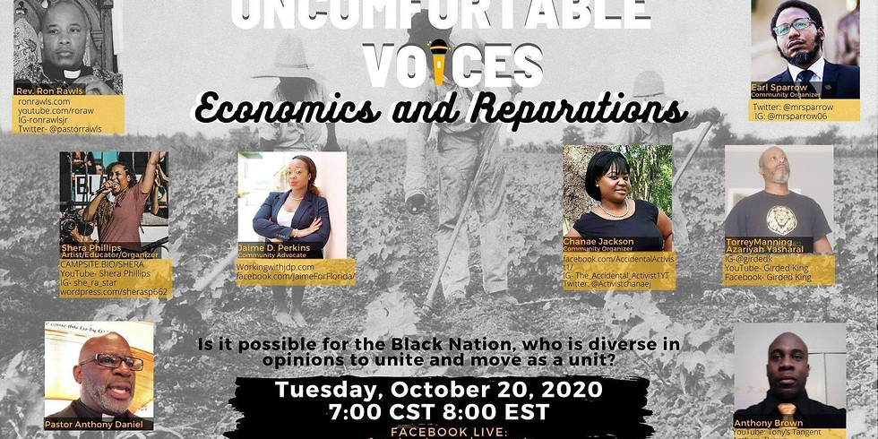 Uncomfortable Voices You Need to Hear Panel Discussion