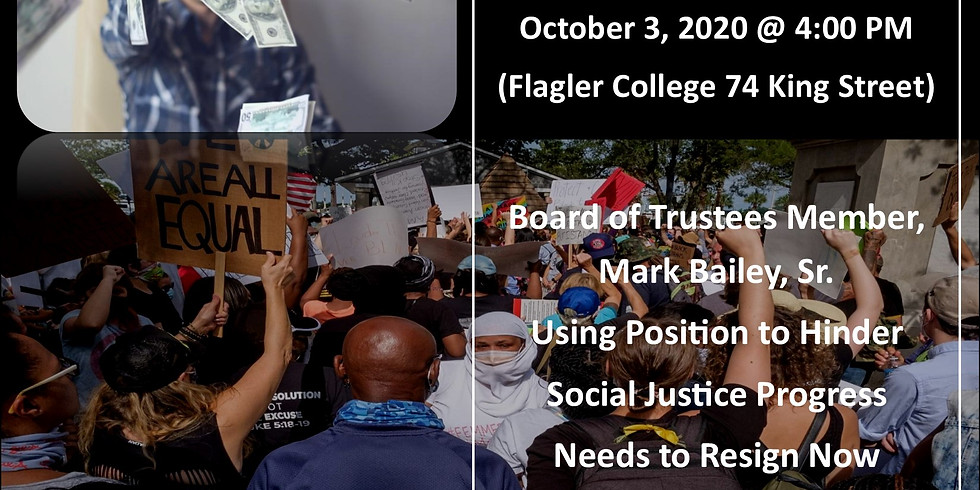Mark Bailey, Sr. Needs to Resign from Flagler College Board of Trustees