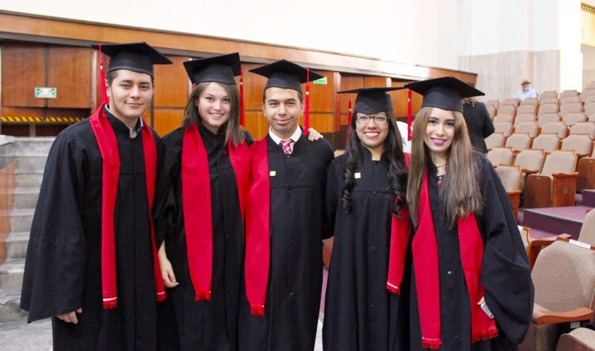 Graduación Escuela de periodismo Carlos Septién
