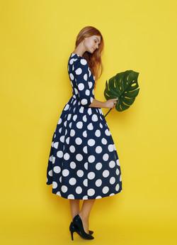 Платье с подъюбником