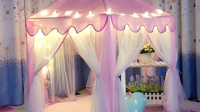 Portable Princess Castle Cute Playhouse Children Kids tent