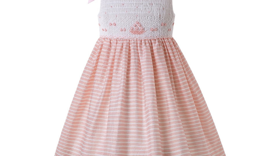 Spring 2021 Collection - Smock Dress With Shoulder  Bow Detail