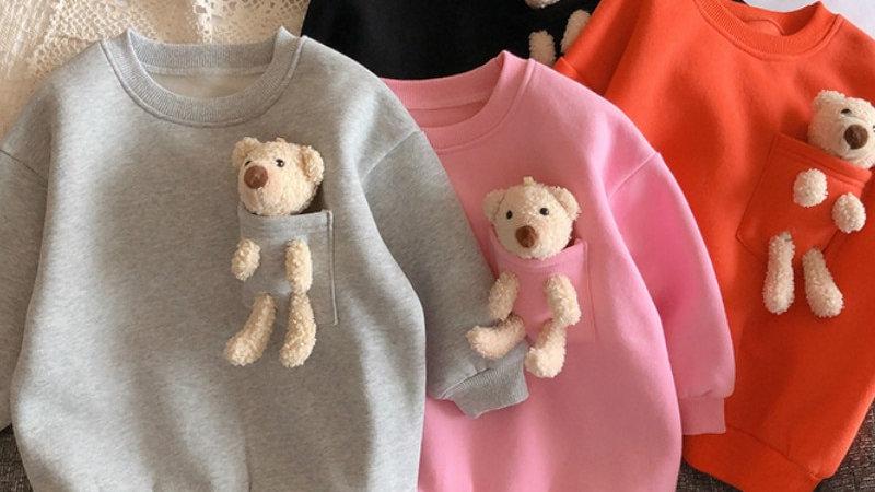 New Arrival  2021 -  Teddy Bear Top