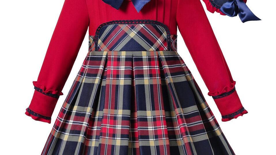Girls Dress - Tartan Winter 2020