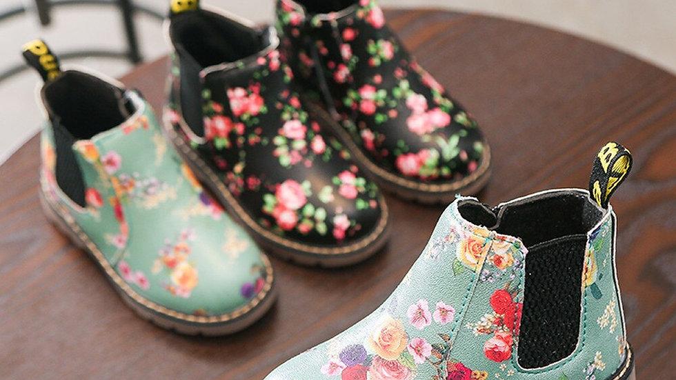 Children Fashion  Girls Martin Sneaker Winter
