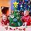 Thumbnail: Christmas tree pendant children's puzzle handmade