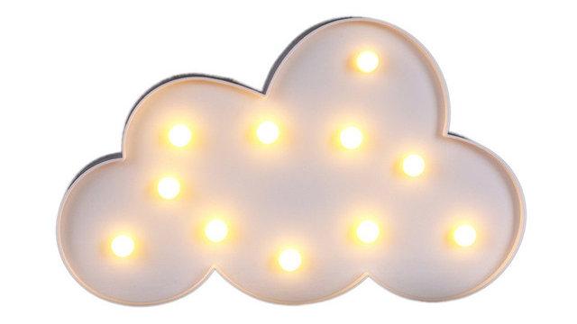 Decorative Party LED Cloud Night light Children's