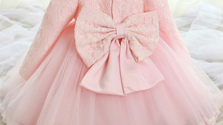 White Dress for Newborn Baby Girl 0 24 Months Baby