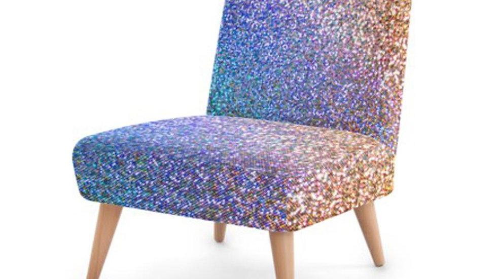 Luxury Glitter Chair - Perfect Statement Piece Nursery /Bedroom