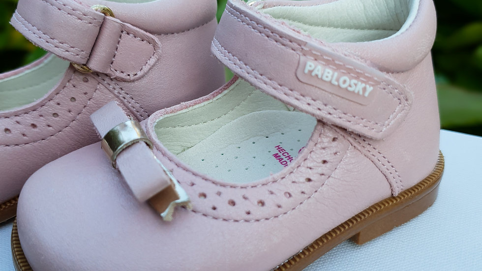 PABLOSKY - SPANISH - PINK LEATHER BABY SHOES