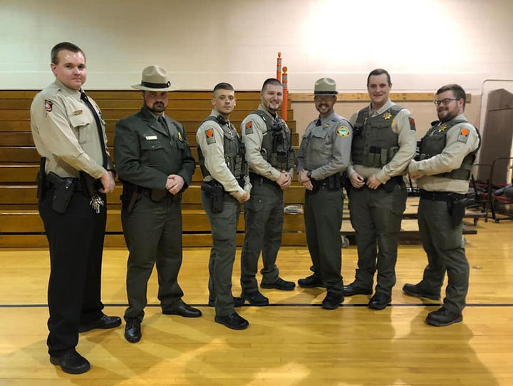State and National Park Rangers