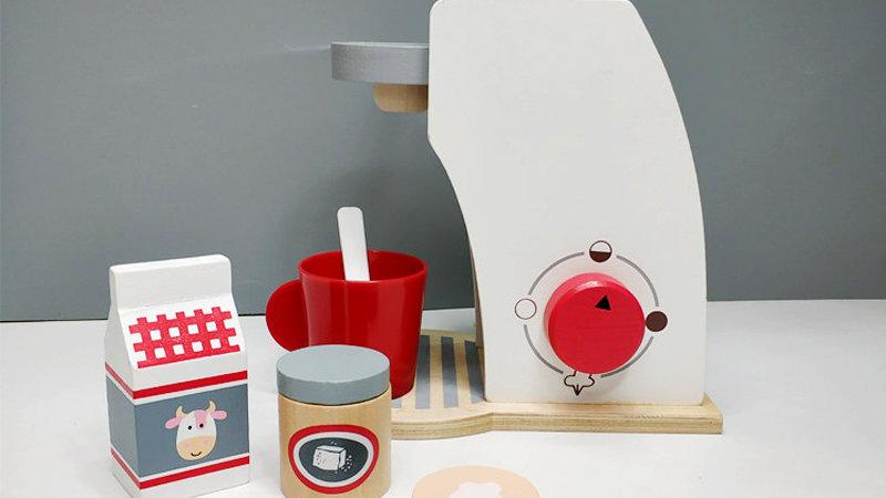 Wooden Breakfast Coffee Toy Set /girls/ boys