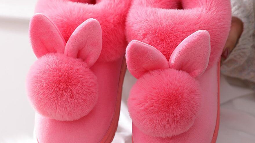 Cute Slipper Rabbit  Slippers -  Womens