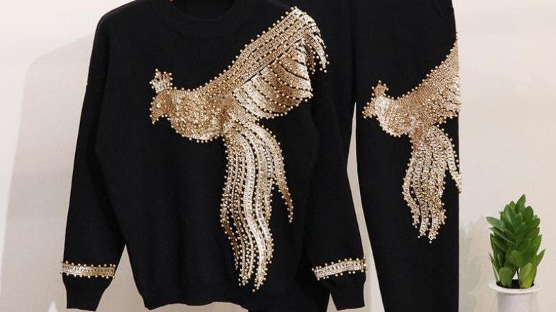 Womens 2021  - Phoenix  Beaded Lounge Suit