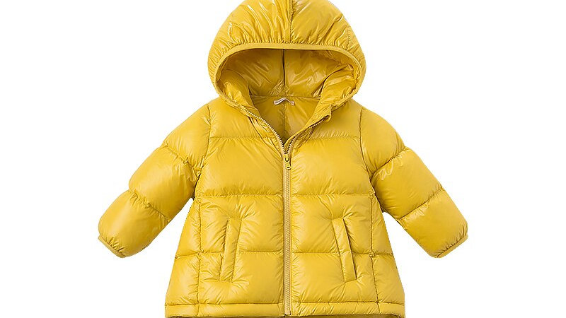Childrens  Winter Down Jacket - Dinosaur