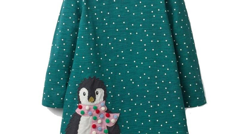 Girls Various Selection of Appliqued Dresses