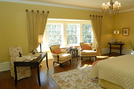 bedoroom window treatments