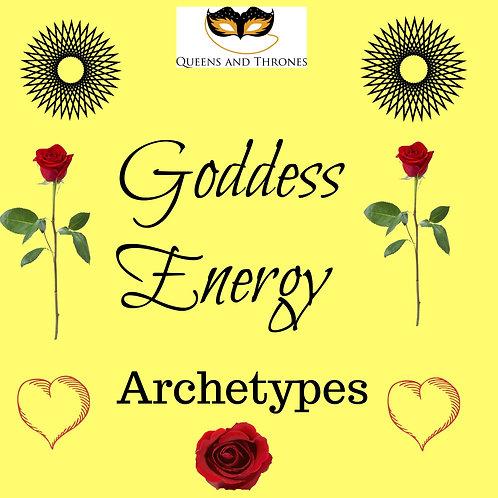 Goddess Energy Archetypes