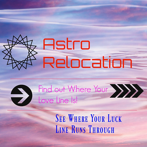 Astro Relocation Chart