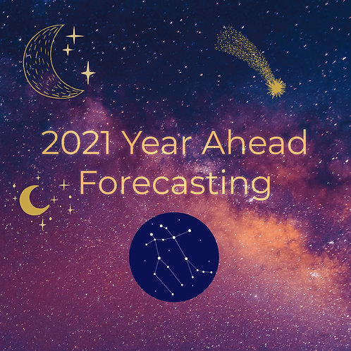 2021 Year Ahead Forecast and Transits