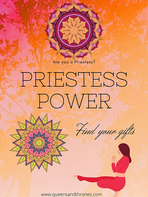 Priestess Powers Reading | Find your Gifts