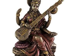 Goddess Saraswati. Virgo Full Moon | March 1, 2018