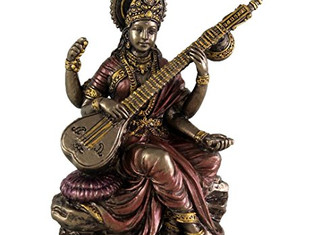Goddess Saraswati. Virgo Full Moon | March 1, 2018