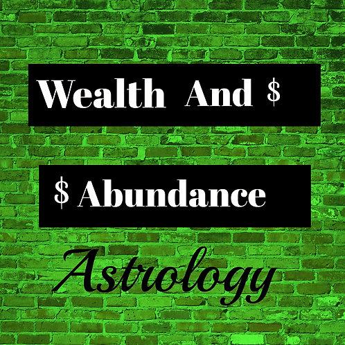 Wealth & Abundance Astro Report