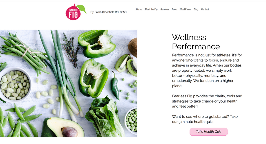 Fitness Coach Landing Page