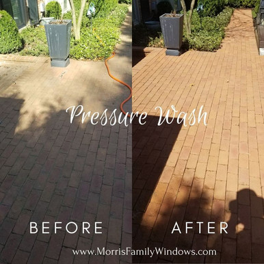 Pressure Washing Before/After