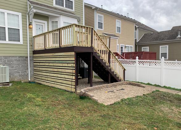 Modern Deck Build in Nashville