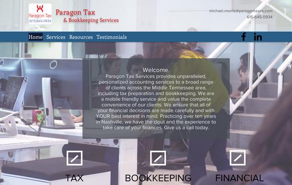 Accountant Website