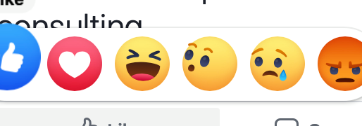 Why the REACTIONS (!!) feature on Facebook is so important in 2020