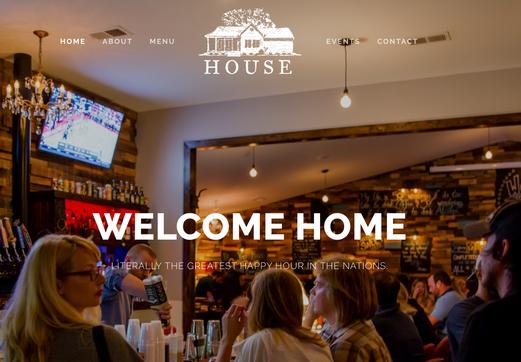 Bar/Restaurant Website