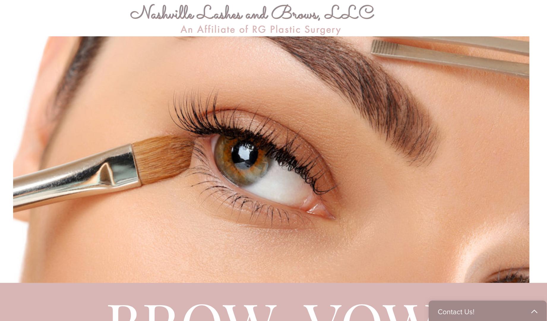 Make-up Artist Website