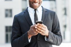 Man on Smart Phone