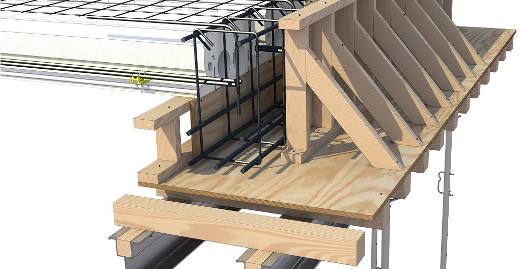 Quad-Deck Perimeter Shoring