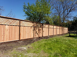 Fencing With Fresh Coat Restoration