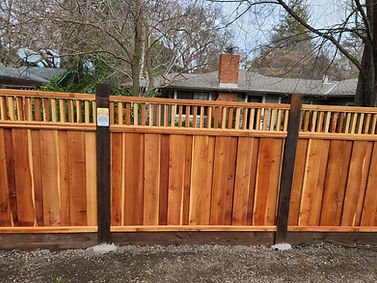 Is staining a fence worth it?