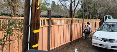 Is it better to spray or roll stain on a fence?