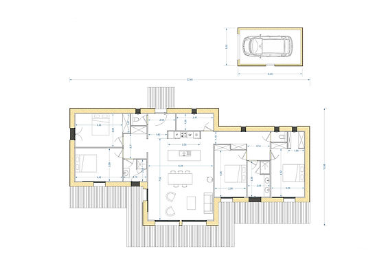 HOZOH 135 E plan