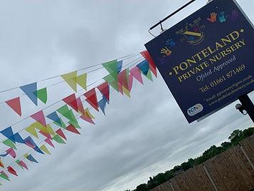 Ponteland_Private_Nursery_Sign