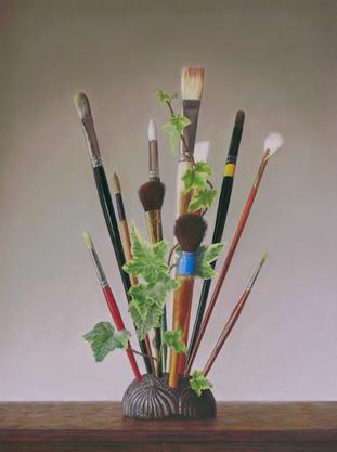 "Juror's Award, ""Brush Award"" by Barbara Groff"