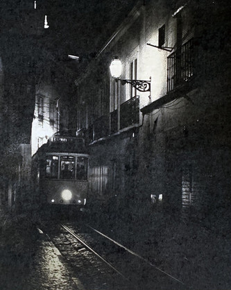 Council's Award, Christine Acebo, 'Last Tram out of Alfama', Cyanotype
