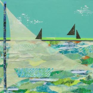 Diane Ward, A.B.Sea, Mixed Media