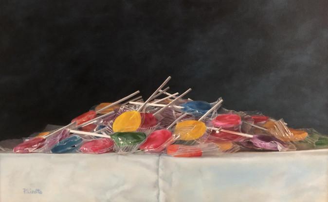 Third Place Award Lollipop Pile Patti Lizotti
