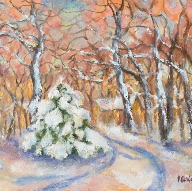 Corbett_Patricia_Winter Pastels_Oil_12x1