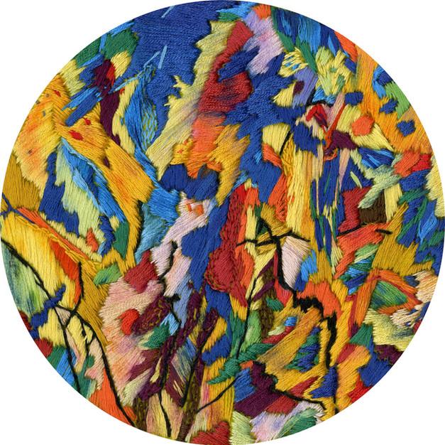 CAROL NIPOMNICH DIXON Medium: Fiber, Embroidery